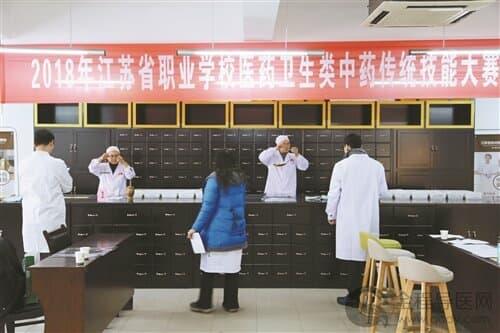 展示职业教育办学成果,江苏省教育厅组办了全省职业学校技能大赛